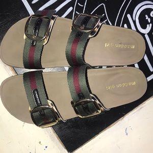 Madden Girl Bambam Footbed Sandals